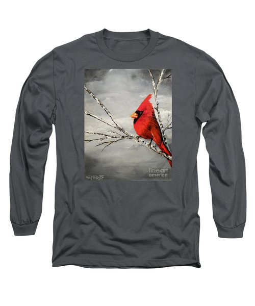 Long Sleeve T-Shirt featuring the painting Family Man by Chad Berglund