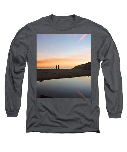 Family Sunset Long Sleeve T-Shirt