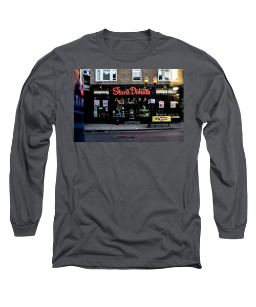 Famous Chicago Donut Shop Long Sleeve T-Shirt