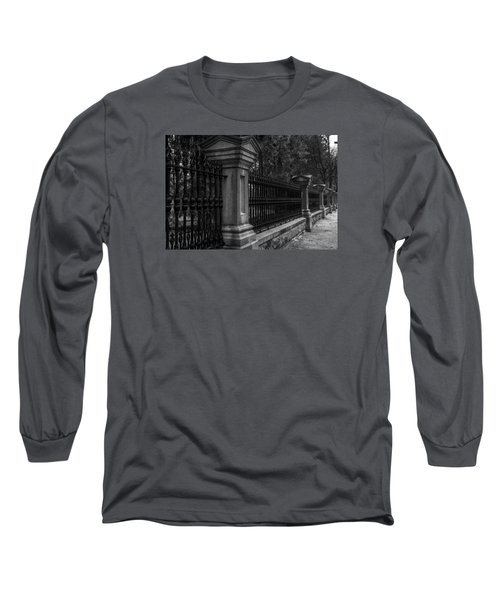 Fancy Fence Long Sleeve T-Shirt by Celso Bressan