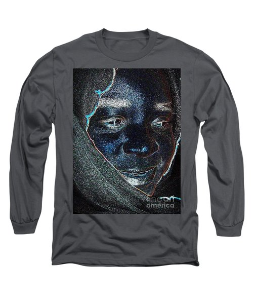 Fania Black Long Sleeve T-Shirt