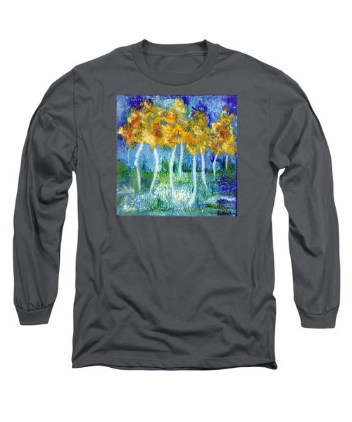 Fantasy Glade Long Sleeve T-Shirt by Elizabeth Fontaine-Barr