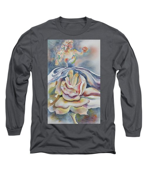 Fantasy Rose Long Sleeve T-Shirt