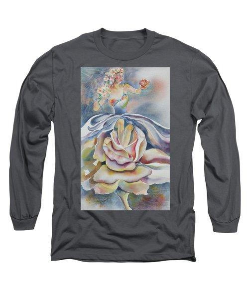 Fantasy Rose Long Sleeve T-Shirt
