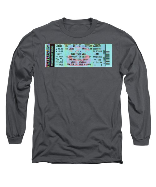 Fare Thee Well Long Sleeve T-Shirt by Susan Carella