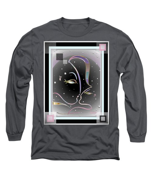 Farewell Mardi Gras Kiss Long Sleeve T-Shirt