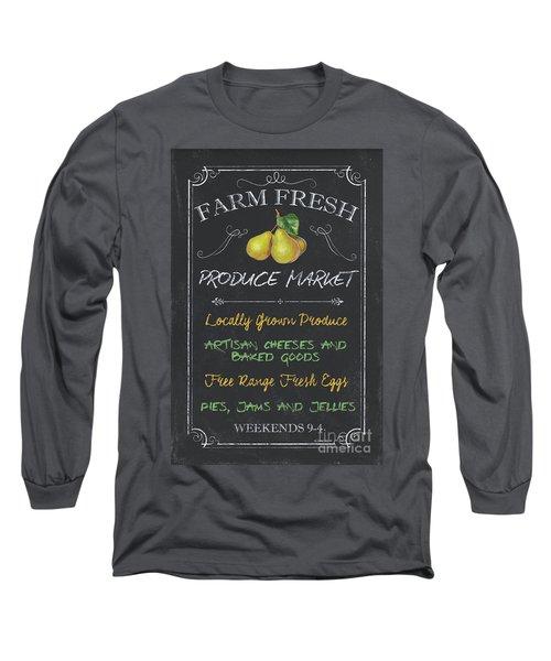 Farm Fresh Produce Long Sleeve T-Shirt