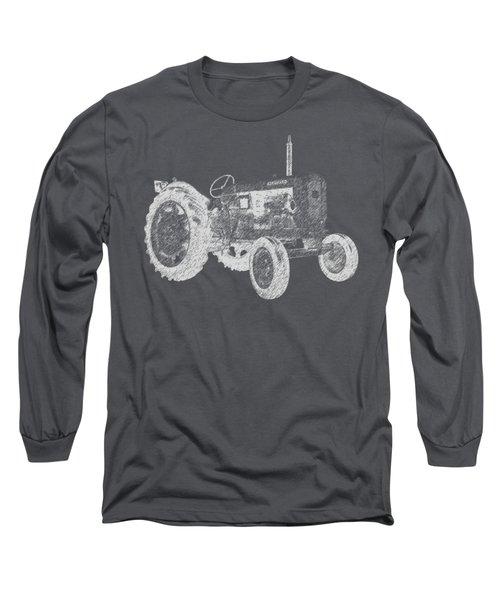 Farm Tractor Tee Long Sleeve T-Shirt