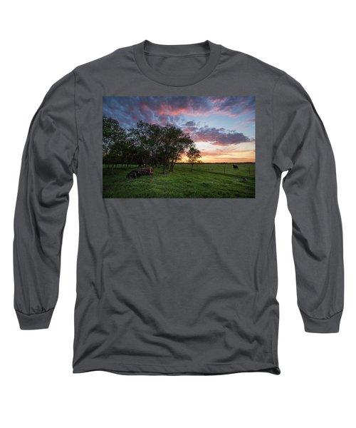 Farm View  Long Sleeve T-Shirt