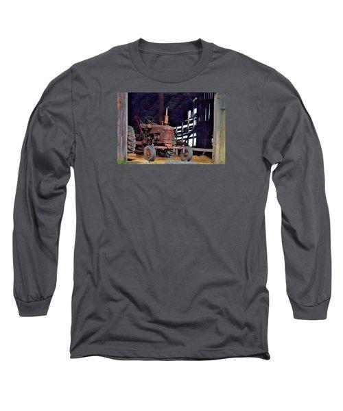 Farmall 300 #2 Long Sleeve T-Shirt by George Robinson