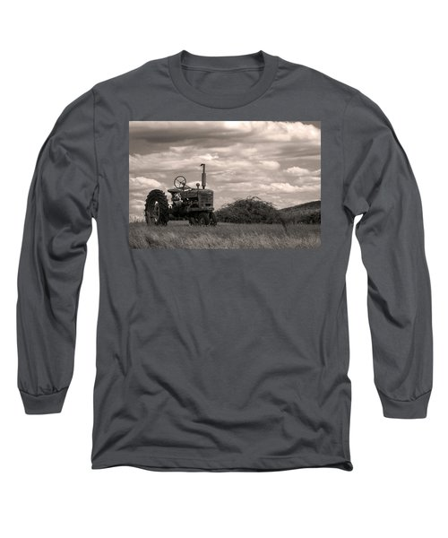 Long Sleeve T-Shirt featuring the photograph Farmall by Michael Friedman