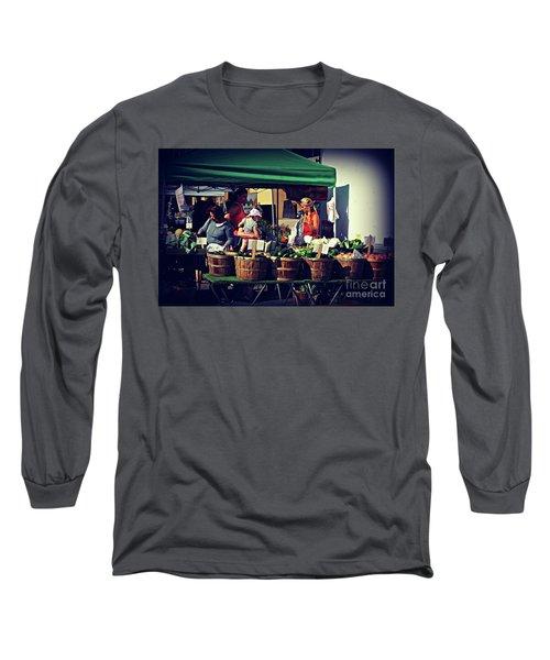 Farmers Market Produce  Long Sleeve T-Shirt