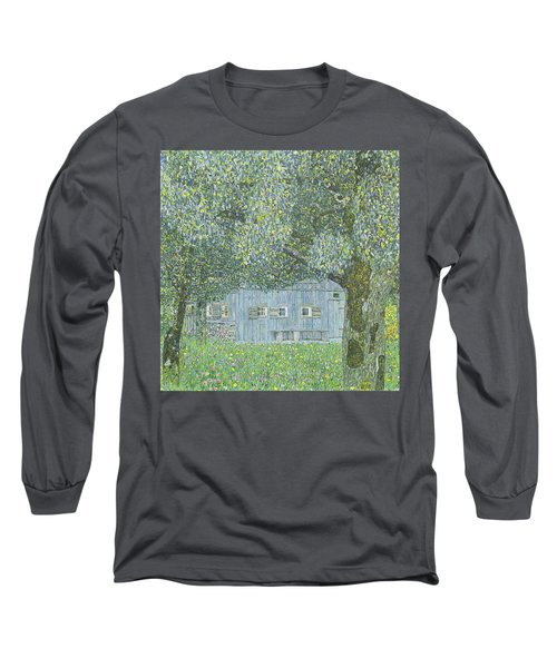 Farmhouse In Upper Austria, 1911 Long Sleeve T-Shirt