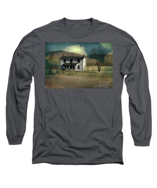 Farmhouse Long Sleeve T-Shirt by Kathy Russell