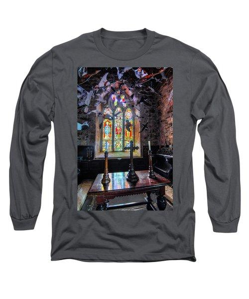 Farne Island Church Long Sleeve T-Shirt