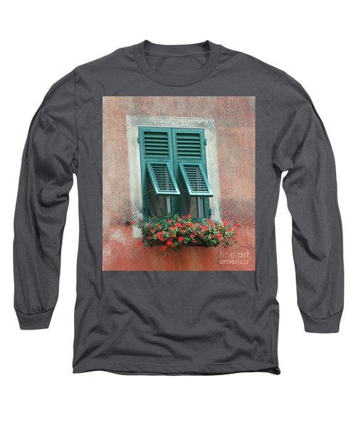 Faux  Painting Window  Long Sleeve T-Shirt