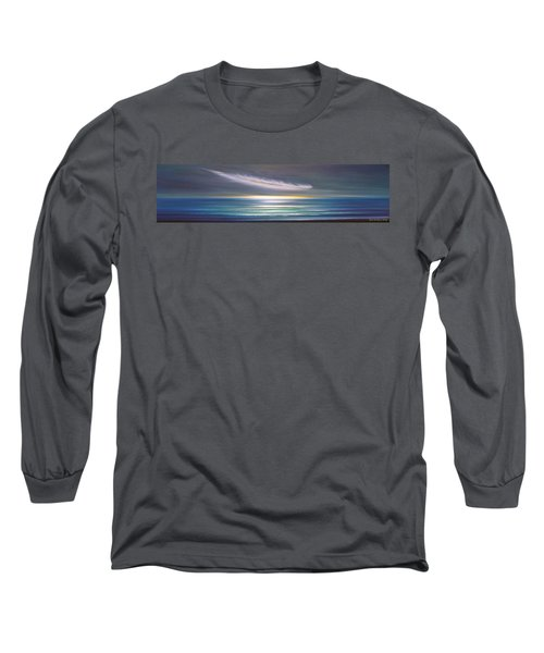 Feather Panoramic Sunset Long Sleeve T-Shirt
