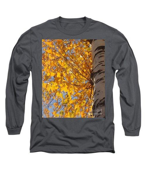 Feathery Fan Of Leaves Long Sleeve T-Shirt