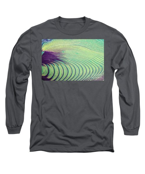 Feathery Ripples Long Sleeve T-Shirt