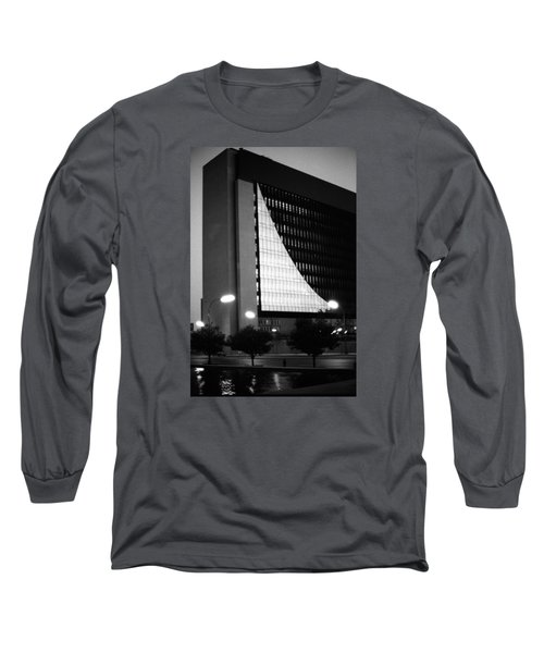 Federal Reserve Building At Twilight Long Sleeve T-Shirt