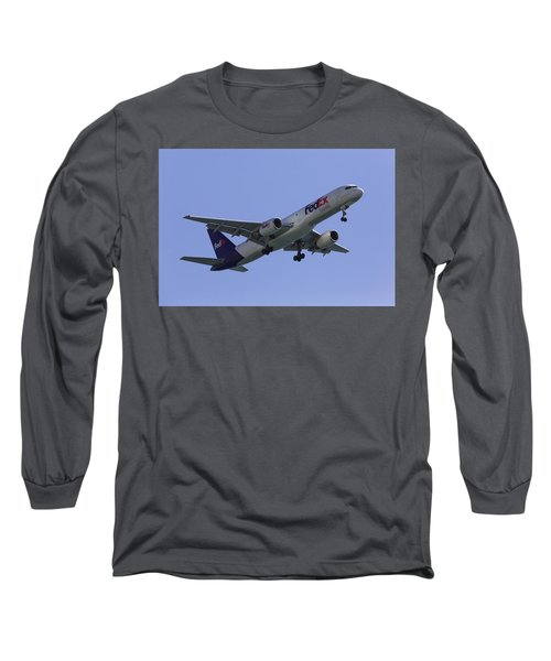 Fedex 757  Long Sleeve T-Shirt