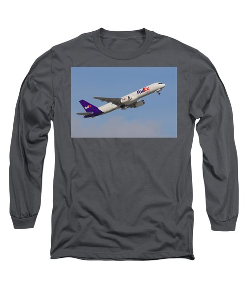 Fedex Jet Long Sleeve T-Shirt