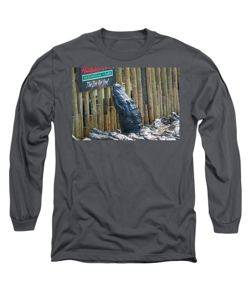 Feed Me Long Sleeve T-Shirt by Kenneth Albin