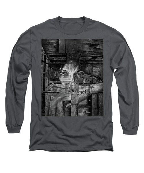 Feel Me Long Sleeve T-Shirt
