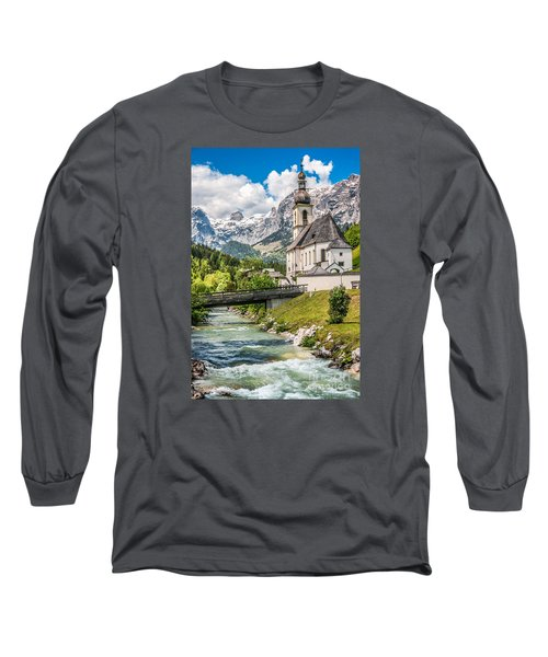 Feel The Spirits  Long Sleeve T-Shirt by JR Photography