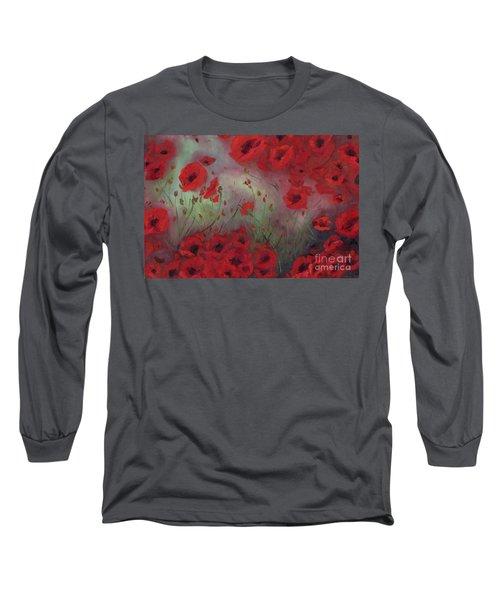 Feeling Poppy Long Sleeve T-Shirt