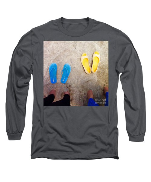 Feet Around The World #23 Long Sleeve T-Shirt