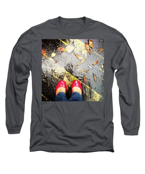 Feet Around The World #29 Long Sleeve T-Shirt