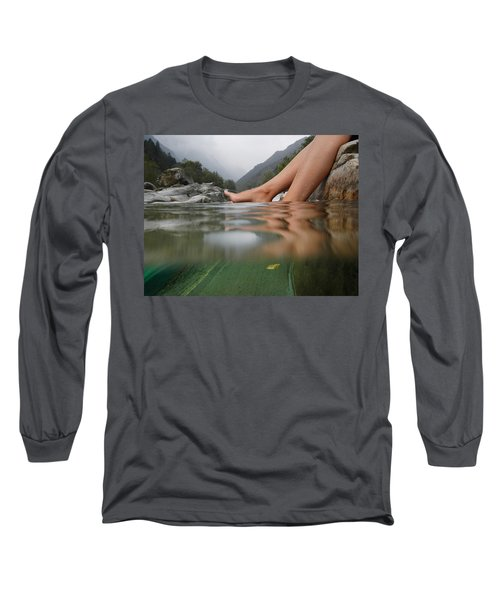 Feet On The Water Long Sleeve T-Shirt