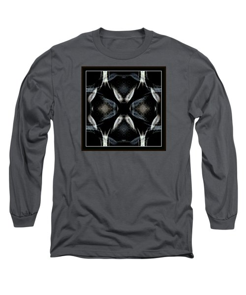 Female Abstraction Image Four Long Sleeve T-Shirt by Jack Dillhunt