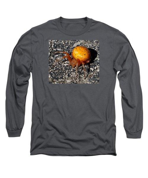 Female Orb Weaver Long Sleeve T-Shirt