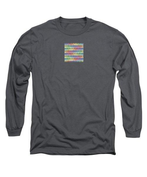 Female Sex/gender Symbols Coalesced Long Sleeve T-Shirt by Stan  Magnan