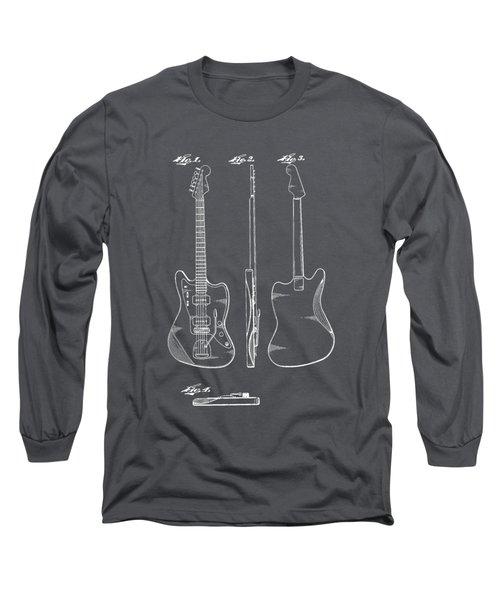 Fender Guitar Drawing Tee Long Sleeve T-Shirt