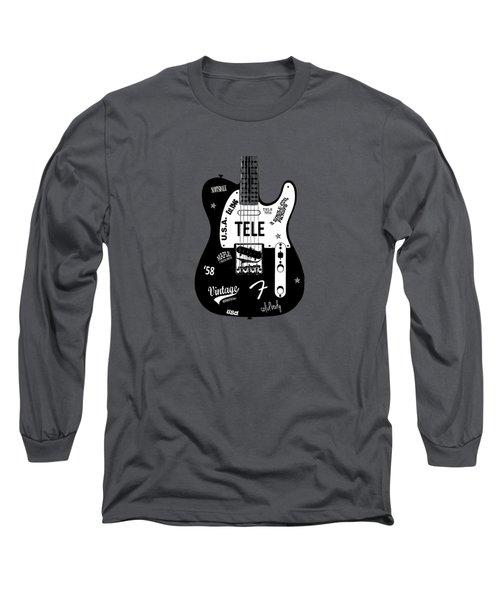 Fender Telecaster 58 Long Sleeve T-Shirt