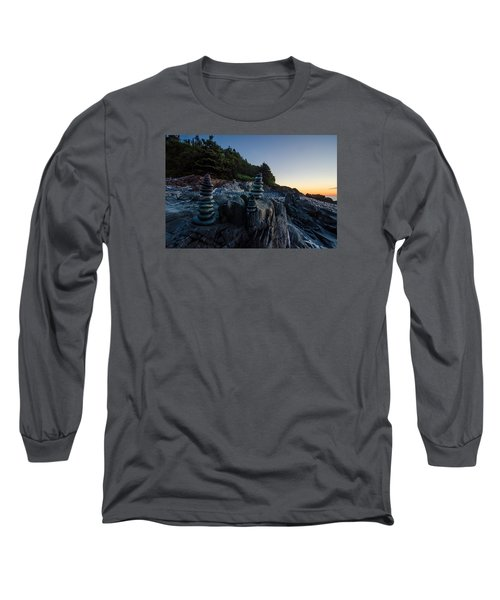 Long Sleeve T-Shirt featuring the photograph Feng Shui by Paul Noble