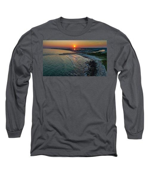 Fenway Beach Sunset Long Sleeve T-Shirt