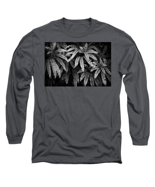 Fern And Shadow Long Sleeve T-Shirt