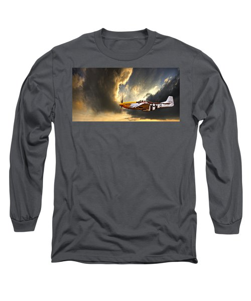 Long Sleeve T-Shirt featuring the photograph Ferocious Frankie by Meirion Matthias