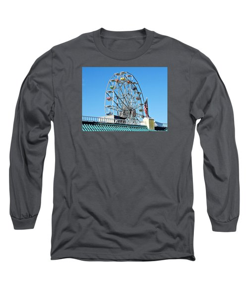 Ferris Wheel Long Sleeve T-Shirt by Allen Beilschmidt