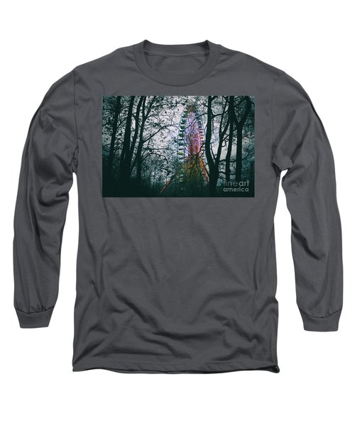 Ferris Wheel Long Sleeve T-Shirt by Ana Mireles
