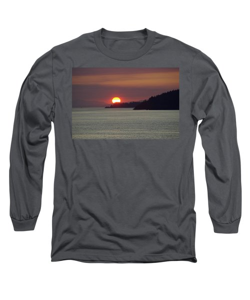 Ferry Sunset Long Sleeve T-Shirt
