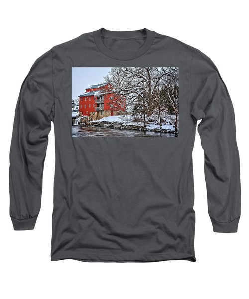 Fertile Winter Long Sleeve T-Shirt by Bonfire Photography