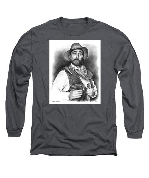 Festus Haggen Long Sleeve T-Shirt by Greg Joens
