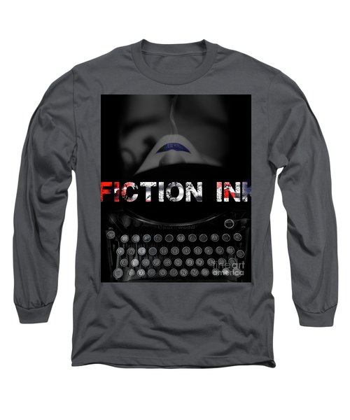 Fiction Ink Long Sleeve T-Shirt by Nola Lee Kelsey