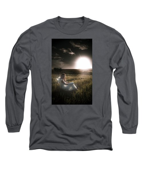Long Sleeve T-Shirt featuring the photograph Field Of Dreams by Jorgo Photography - Wall Art Gallery