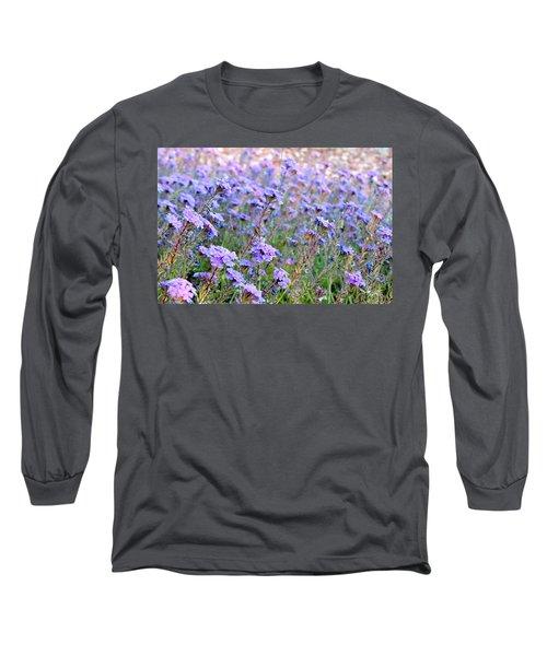 Field Of Lavendar Long Sleeve T-Shirt